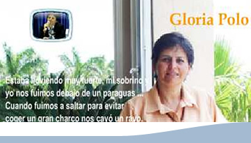 anuncio testimonio gloria